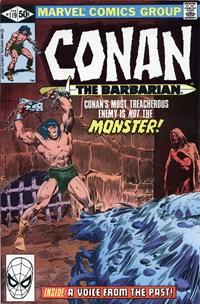 Conan the Barbarian (Marvel, 1970 series) #119 — A Voice from the Past!