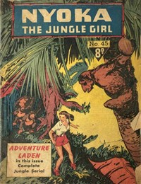 Nyoka the Jungle Girl (Cleland, 1949 series) #45