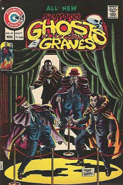 The Many Ghosts of Dr. Graves (Charlton, 1967 series) #48 (November 1974)