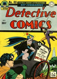 Detective Comics (DC, 1937 series) #80 (October 1943)