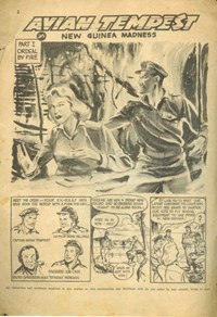 Little Trimmer Comic (Approved, 1950 series) #15 — New Guinea Madness Part I Ordeal by Fire (page 1)