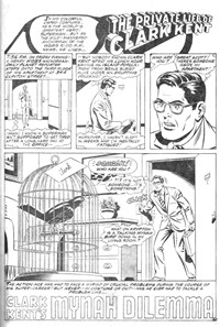 Superman the Comic (Murray, 1978 series) #4 — Clark Kent's Mynah Dilemma (page 1)