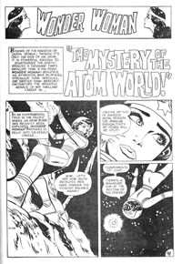 Superman Presents World's Finest Comic Monthly (KG Murray, 1974 series) #118 — The Mystery of the Atom World! (page 1)