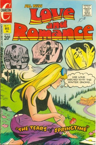 Love and Romance (Charlton, 1971 series) #9 (December 1972)