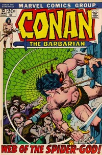 Conan the Barbarian (Marvel, 1970 series) #13 (January 1972)