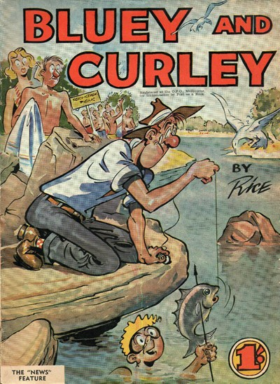 Bluey and Curley Annual (Herald, 1946? series) #1956 ([1956?])