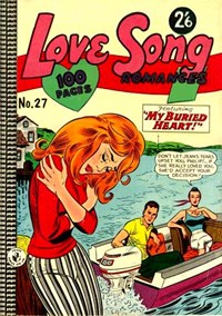 Love Song Romances (Colour Comics, 1959 series) #27 ([May 1964?])