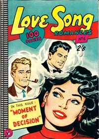 Love Song Romances (Colour Comics, 1959 series) #6 ([November 1959?])