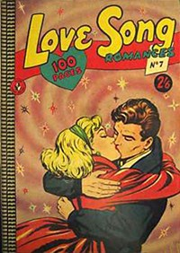 Love Song Romances (Colour Comics, 1959 series) #7 ([January 1960?])