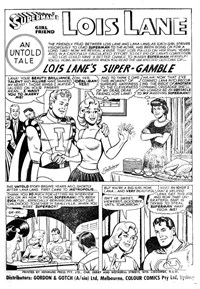 Super Adventure Comic (Colour Comics, 1960 series) #24 — Lois Lane's Super-Gamble (page 1)