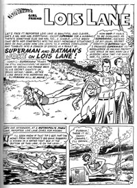 Super Adventure Comic (Colour Comics, 1960 series) #24 — Superman and Batman's Joke on Lois Lane! (page 1)