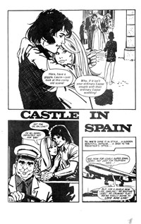 All Love Romantic Stories (Sport Magazine, 1972 series) #9 — Castle in Spain (page 1)