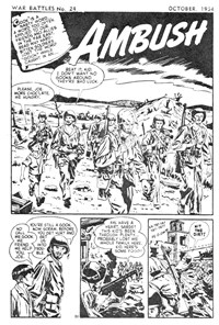 War Battles (Red Circle, 1952 series) #24 — Ambush (page 1)