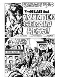 The Witching Hour (Murray, 1982?)  — The Head that Haunted Gerald Hess! (page 1)