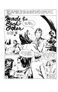 Magic Moment Romances (KG Murray, 1973 series) #102 — Made for Each Other (page 1)