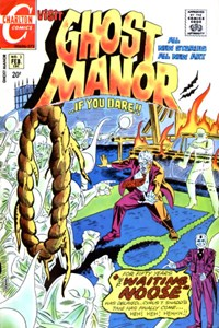 Ghost Manor (Charlton, 1971 series) #3 — The Waiting Noose