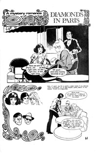 Man and Woman (KG Murray, 1974? series) #23 — Diamonds in Paris (page 1)