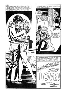 Man and Woman (KG Murray, 1974? series) #23 — Running for Love! (page 1)