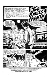 For Lovers Only (Murray, 1979 series) #7 — Two Kisses a Month (page 1)
