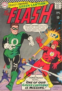 The Flash (DC, 1959 series) #168 — One of Our Green Lanterns is Missing!