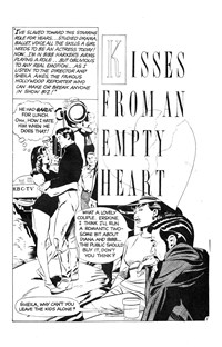 All Love Romantic Stories (Murray, 1978 series) #31 — Kisses from an Empty Heart (page 1)