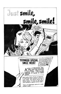 All Love Romantic Stories (Murray, 1978 series) #31 — Just Smile, Smile, Smile! (page 1)