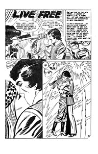 Man and Woman (Murray, 1978? series) #31 — Live Free (page 1)
