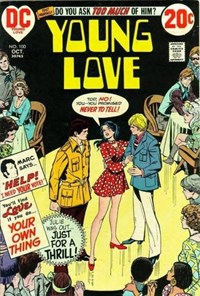 Young Love (DC, 1963 series) #100 — Just for a Thrill! (Cover)