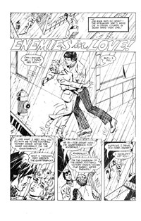 Love Song Romances (Murray, 1977 series) #90 — Enemies in Love! (page 1)