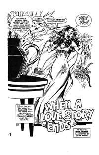 All Love Romantic Stories (KG Murray, 1974? series) #16 — When a Love Story Ends (page 1)