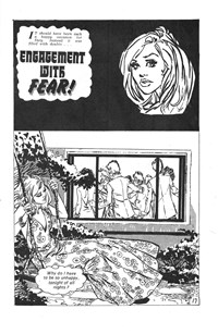 All Love Romantic Stories (KG Murray, 1974? series) #20 — Engagement with Fear! (page 1)