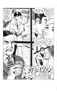 Planet Series 3 (Murray, 1980 series) #5 — Love Song (page 1)