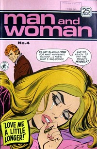 Man and Woman (Colour Comics, 1969? series) #4 ([July 1970?])