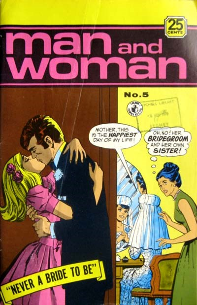 Man and Woman (Colour Comics, 1969? series) #5 ([October 1970?])