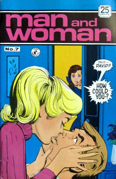Man and Woman (Colour Comics, 1969? series) #7 ([April 1971?])