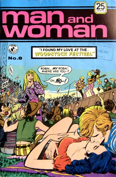 Man and Woman (Colour Comics, 1969? series) #8 ([July 1971?])