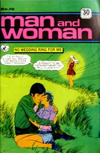 Man and Woman (Colour Comics, 1969? series) #10 ([January 1972?])