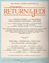 Star Wars Return of the Jedi (Federal, 1983?)  — Return of the Jedi (page 1)