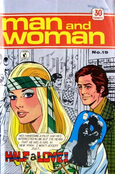 Man and Woman (KG Murray, 1974? series) #19 ([April 1974?])