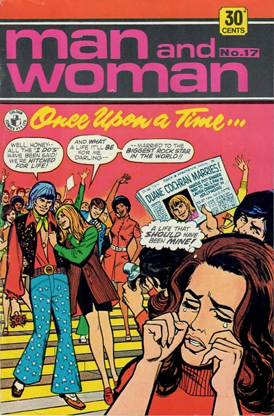 Man and Woman (Colour Comics, 1969? series) #17 ([October 1973?])