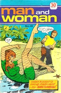 Man and Woman (Colour Comics, 1969? series) #15 ([April 1973?])