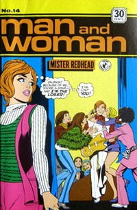 Man and Woman (Colour Comics, 1969? series) #14 ([January 1973?])