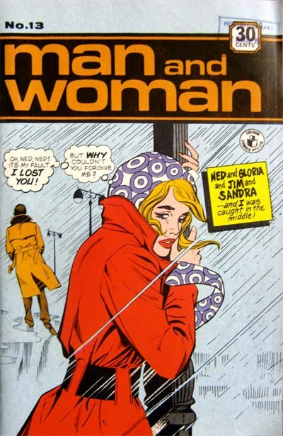 Man and Woman (Colour Comics, 1969? series) #13 ([1972?])