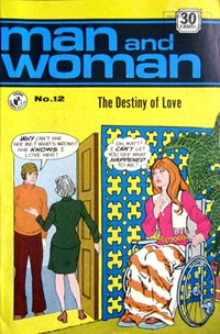 Man and Woman (Colour Comics, 1969? series) #12 — The Destiny of Love