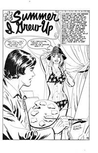 Magic Moment Romances (KG Murray, 1973 series) #115 — The Summer I Grew Up (page 1)