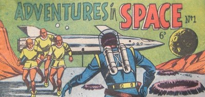 Adventures in Space (Lilliput, 1957? series) #1 ([1957?])