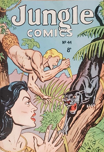 Jungle Comics (HJ Edwards, 1950? series) #44 ([May 1954?])
