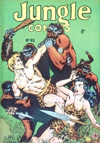Jungle Comics (HJ Edwards, 1950? series) #45