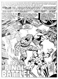 Fantastic Four (Yaffa/Page, 1977 series) #212-213 — In Final Battle! (page 1)