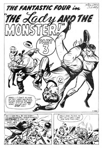 Fantastic Four (Yaffa/Page, 1977 series) #195 — The Lady and the Monster! Part 3 (page 1)